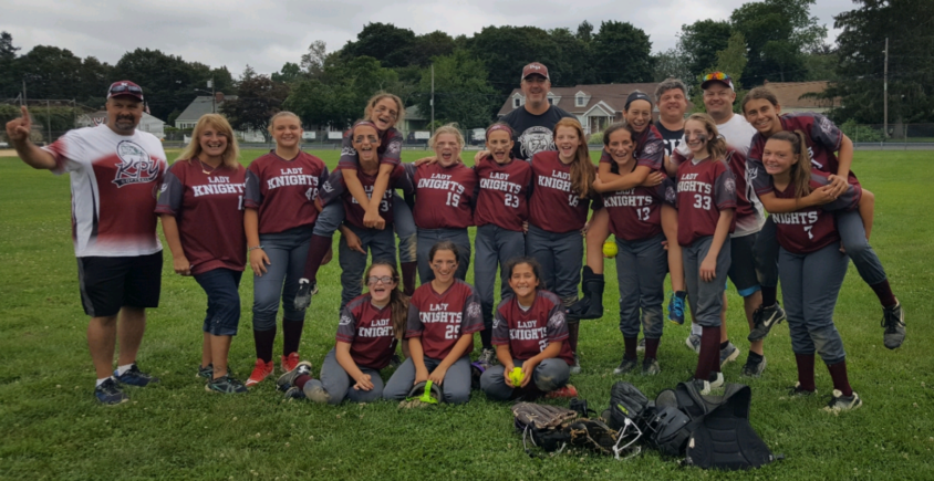 Repeat Champs!!!  12u Lady Knights – Maroon Win NJBL Summer American Division